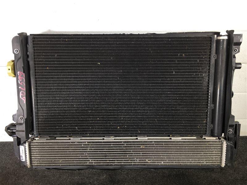 Радиатор кондиционера Audi A1 8XA CAXA 2011 501599 Радиатор двигателя, инетркулер (б/у)