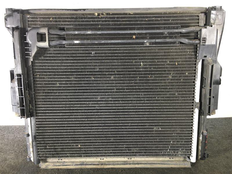Радиатор кондиционера Bmw X3 E83 M54 2004 501602 Радиатор основной, радиатор (б/у)