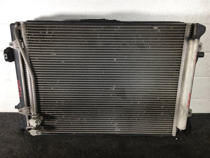 Радиатор кондиционера Volkswagen Passat 3CAXZF AMX 2006 501603 Радиатор основной продается (б/у)