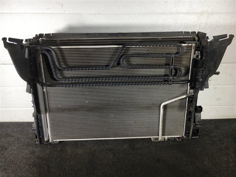 Радиатор гидроусилителя Mercedes-Benz C-Class S204 M271DE18AL 2011 501604 Радиатор основной, (б/у)