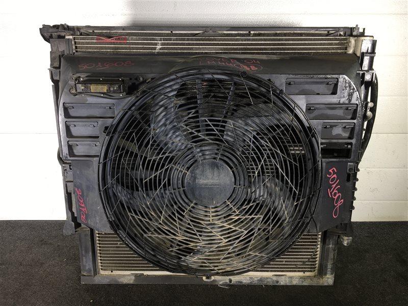 Радиатор кондиционера Land Rover Range Rover L322 448S 2004 501608 Дефект (см. фото). Радиатор (б/у)