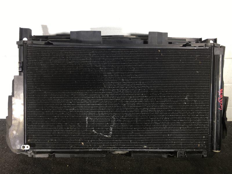 Радиатор охлаждения двигателя Toyota Mark X Zio GGA10 2GR 2008 72800 Дефект (см. фото). (б/у)