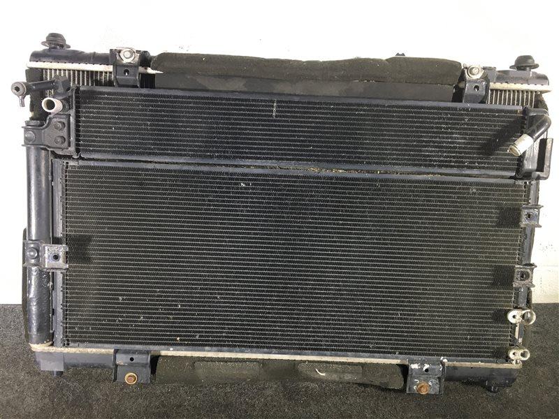 Радиатор кондиционера Lexus Gs450H GWS191 2GRFSE 2007 501610 Радиатор основной, радиатор (б/у)