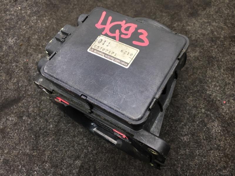 Датчик расхода воздуха Mitsubishi Legnum EC1W 4G93 E5T07171 Есть дефект пластикового (б/у)
