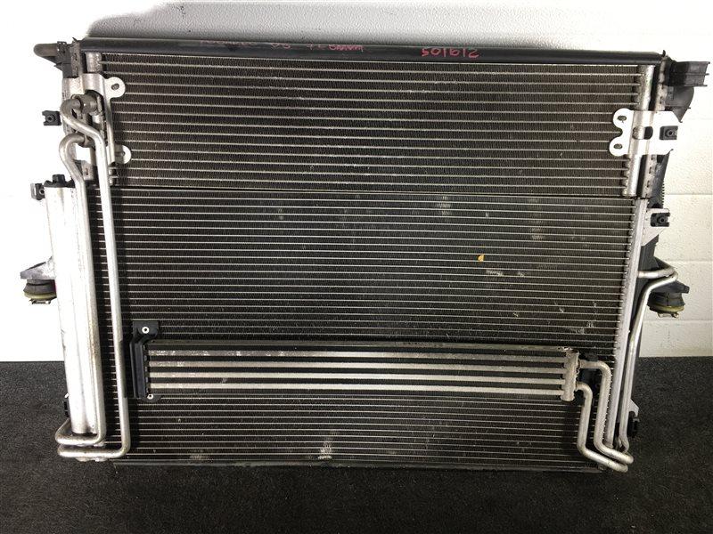 Радиатор кондиционера Volkswagen Touareg 7LA BMV 2006 501612 Радиатор основной, радиатор (б/у)