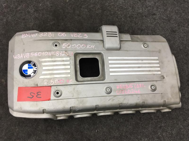 Крышка двигателя Bmw 3-Series E90 N52B25A 2006 Трещина (см. фото). (б/у)