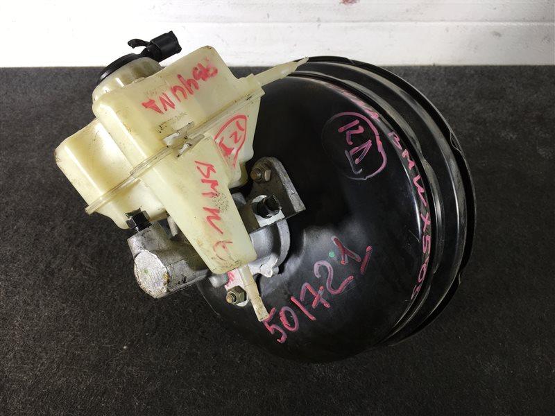 Вакуумный усилитель тормозов Bmw X5 E53 N62 2003 501721 Правый руль. ГТЦ + вакуумный (б/у)