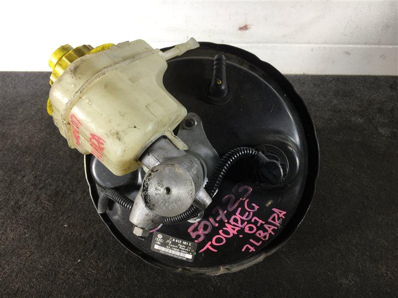 Цилиндр главный тормозной Volkswagen Touareg 7LA 4200 CC BARA 2007 501723 ГТЦ + вакуумный (б/у)