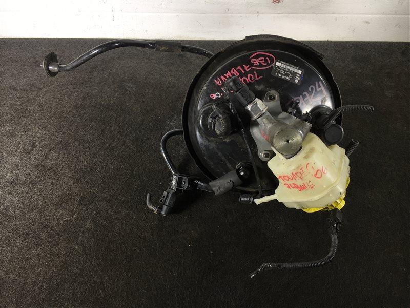 Вакуумный усилитель тормозов Volkswagen Touareg 7LA BMV 2006 501724 Правый руль. ГТЦ + (б/у)