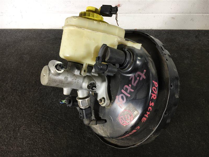 Цилиндр главный тормозной Porsche Cayenne 955 M48 0081402781 2004 501727 ГТЦ + вакуумный усилитель  (б/у)