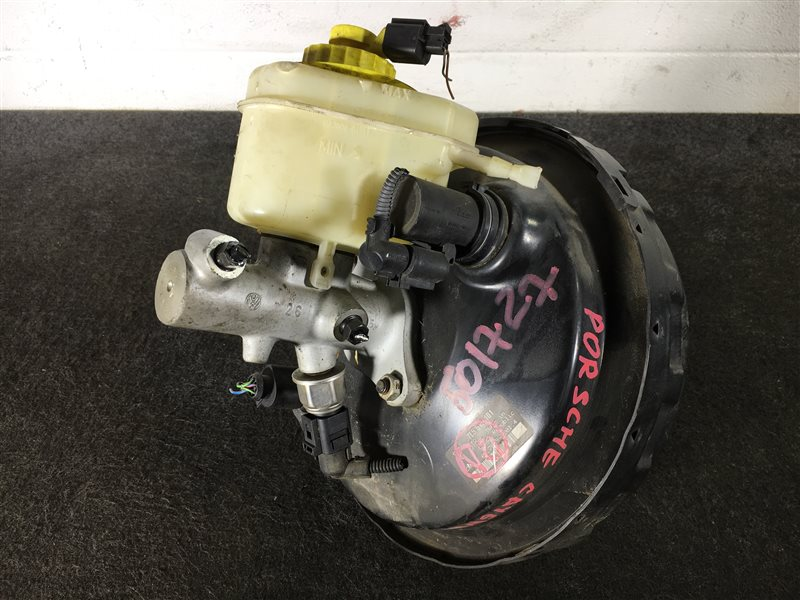 Вакуумный усилитель тормозов Porsche Cayenne 955 M48 0081402781 2004 501727 Левый руль. ГТЦ + (б/у)