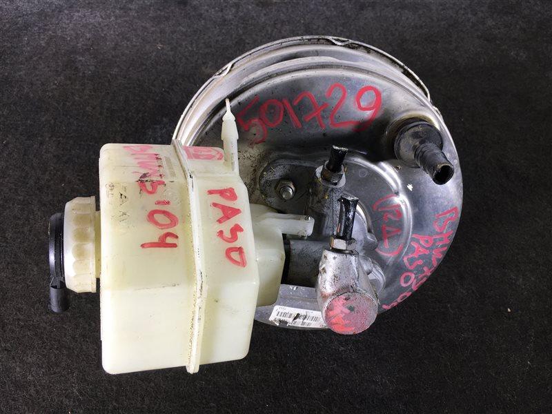 Вакуумный усилитель тормозов Bmw X3 E83 M54 2004 501729 Правый руль. ГТЦ + вакуумный (б/у)