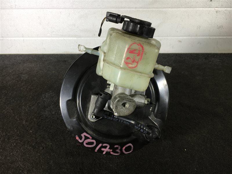 Вакуумный усилитель тормозов Bmw 1-Series E87 N45B16 2007 501730 Правый руль. ГТЦ + вакуумный  (б/у)