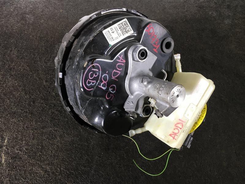 Вакуумный усилитель тормозов Audi Q5 8RB CDNC 2009 501731 Правый руль. ГТЦ + вакуумный (б/у)