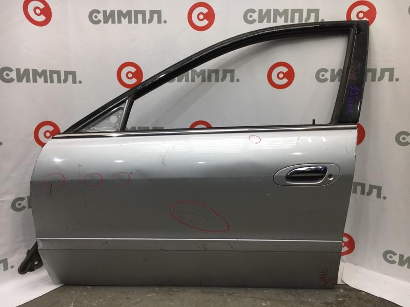 Замок двери Honda Inspire UA5 J32A передний левый В двери (б/у)