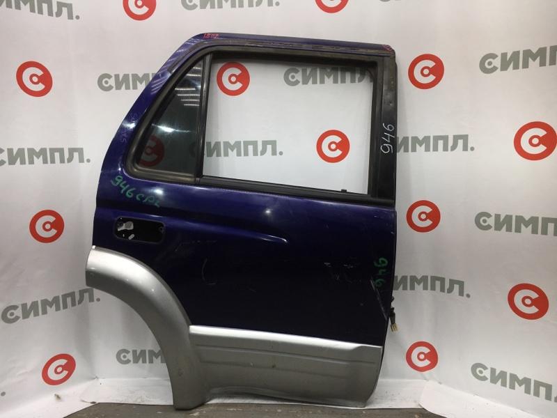 Стеклоподъемный механизм Toyota Hilux Surf KZN185 1KZ задний правый В двери. (б/у)
