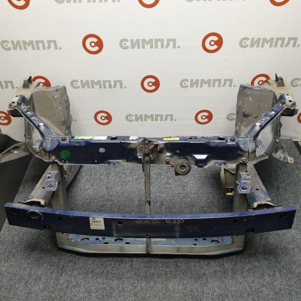 Рамка радиатора Toyota Raum NCZ20 1NZ 2004 Длинный по полчашки. С усилителем, замком (б/у)