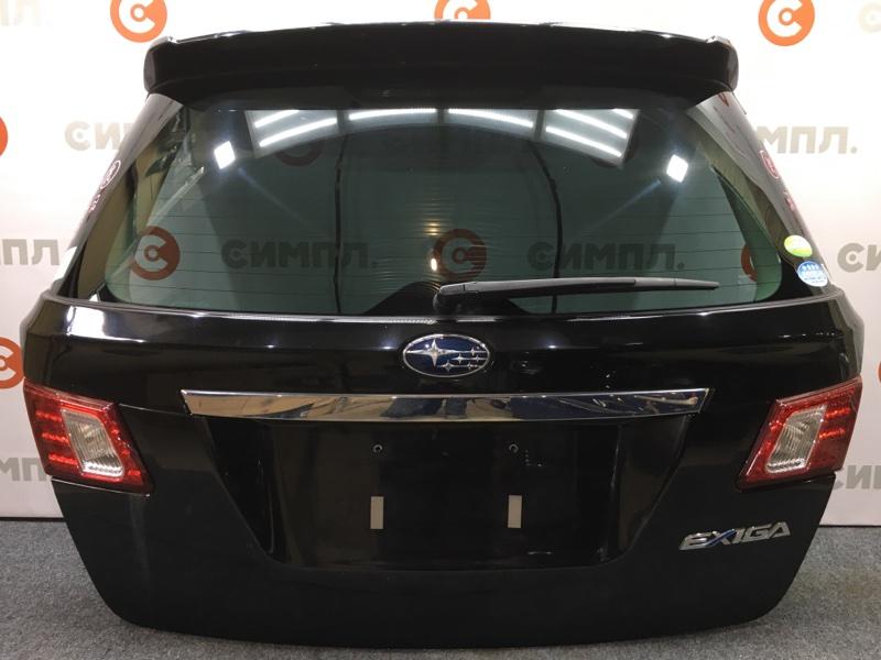 Дверь багажника Subaru Exiga YA5 EJ204 2008 Спойлер. Цвет 32J. (б/у)