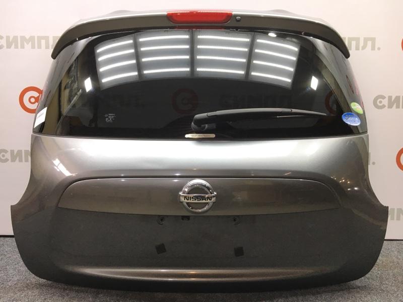 Дверь багажника Nissan Juke YF15 HR15 2011 Метла, камера, цвет KAD. (б/у)