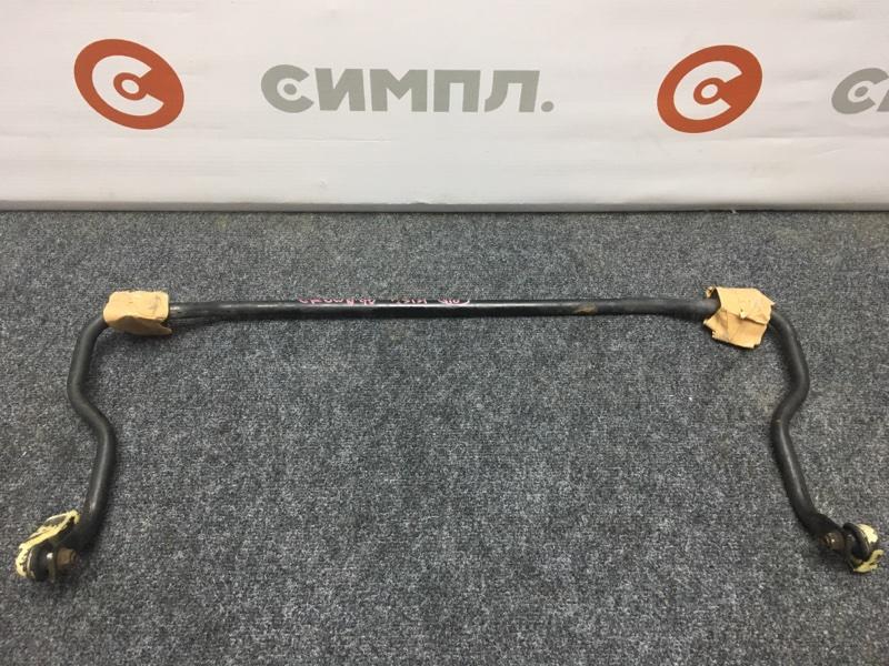 Стабилизатор поперечной устойчивости Toyota Crown GS131 1G-GZE 1990 задний (б/у)