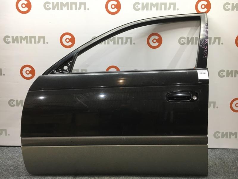 Дверь боковая Toyota Caldina ST215 3S 1998 передняя левая Цена за голую дверь. Цвет 2DB. Снят (б/у)