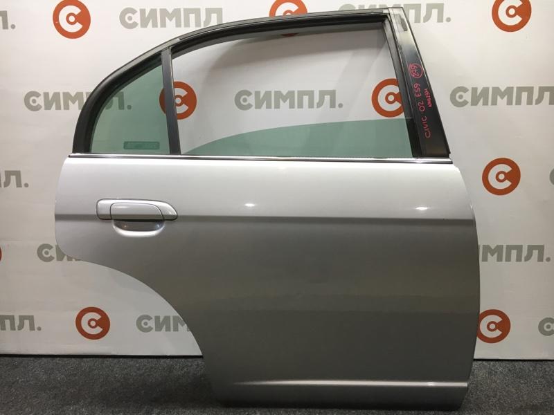 Дверь боковая Honda Civic ES9 LDA 2002 задняя правая Снято стекло. (б/у)