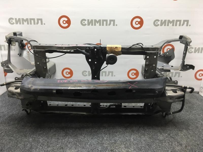 Рамка радиатора Subaru Forester SH5 EJ204 2009 Снят усилитель. Трос капота продается (б/у)