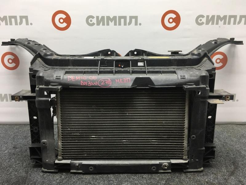 Рамка радиатора Mazda Demio DY3W ZJ 2006 Продается в сборе, как на фото. МКПП. Цена за (б/у)