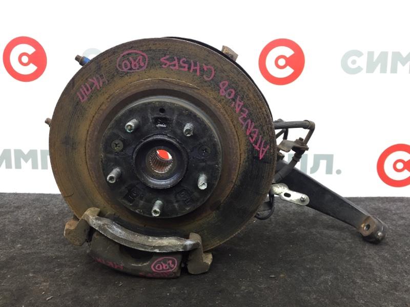 Диск тормозной Mazda Atenza GH5FS L5 2008 передний правый (б/у)