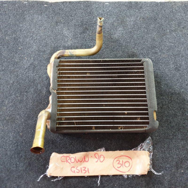 Радиатор отопителя Toyota Crown GS131 1G-GZE 1990 (б/у)