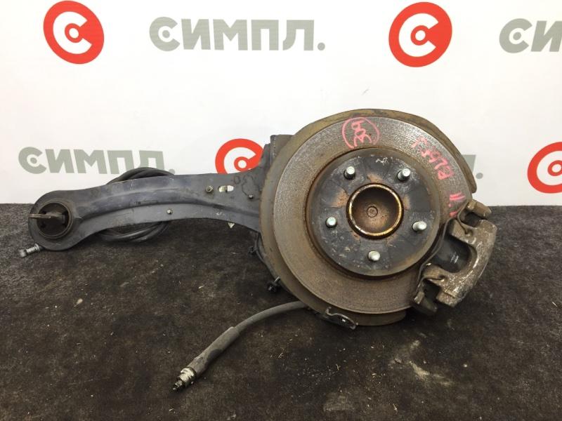 Суппорт тормозной Mazda Axela BL6FJ Z6 2011 задний правый (б/у)