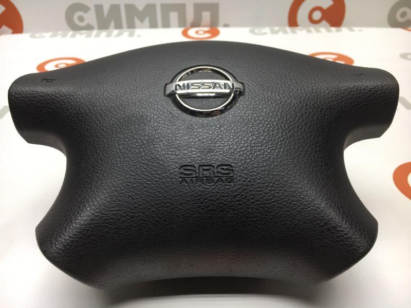 Подушка безопасности Nissan Ad VHNY11 QG18 2002 В руль. (б/у)