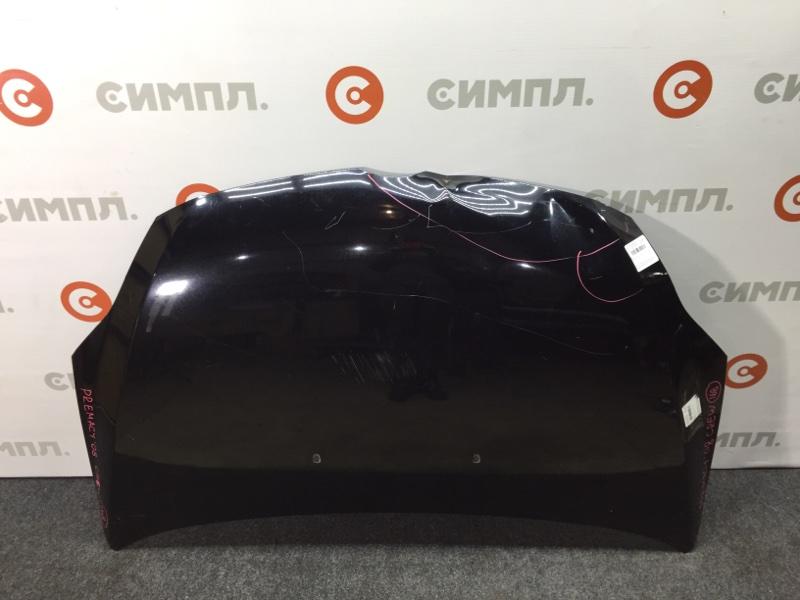 Капот Mazda Premacy CREW LF 2008 Дефект (см. фото) Голый, снята обшивка, форсунки, (б/у)