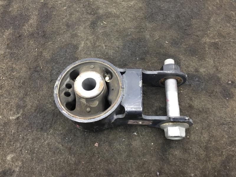 Подушка двигателя Toyota Aqua NHP10 1NZ-FXE 2012 задняя (б/у)