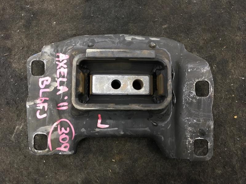Подушка двигателя Mazda Axela BL6FJ Z6 2011 левая Подушка КПП. (б/у)