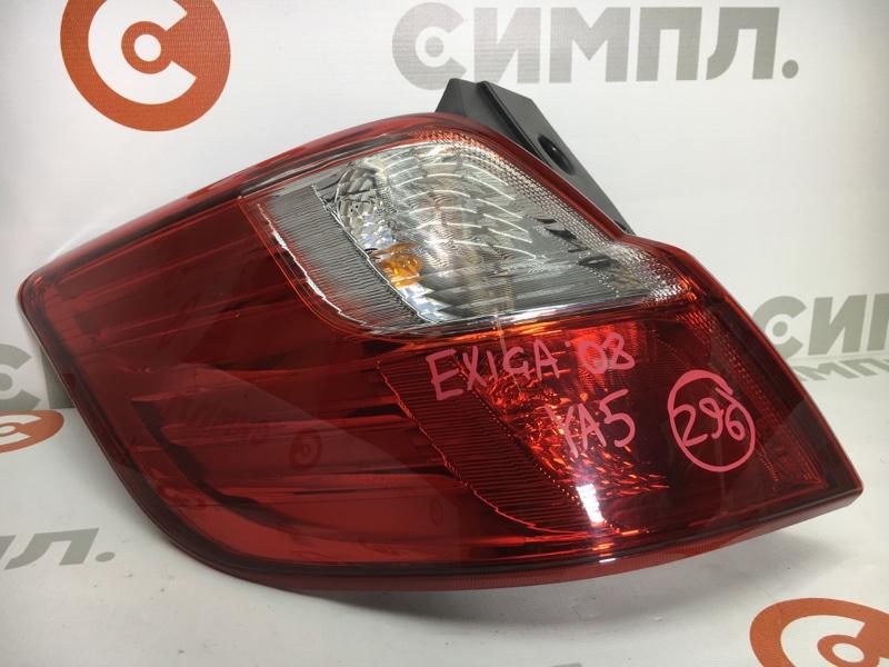 Задний фонарь Subaru Exiga YA5 EJ204 2008 задний левый D060 Сломана направляющая (см. фото) (б/у)