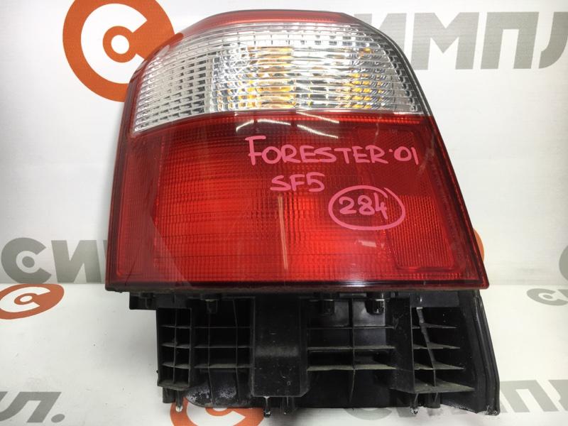 Задний фонарь Subaru Forester SF5 EJ201 2001 задний левый 220-29697 Рестайл. (б/у)