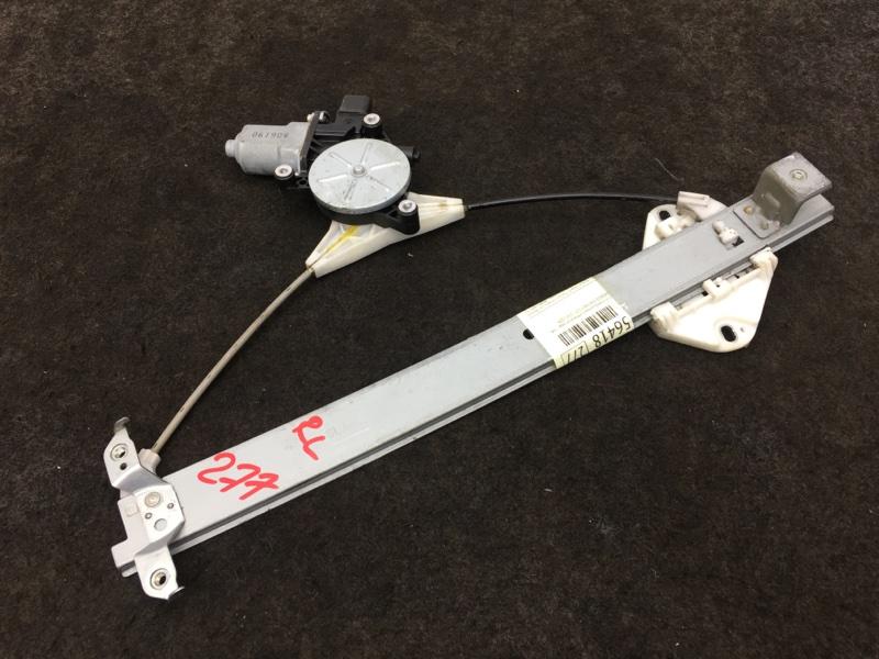 Стеклоподъемный механизм Honda Partner GJ3 L15A 2008 задний левый (б/у)