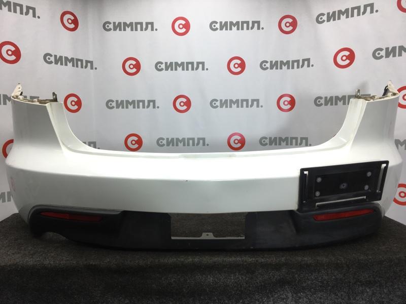 Бампер Mazda Axela BL6FJ Z6 2011 задний Седан. Надломано нижнее крепление (см. фото). (б/у)