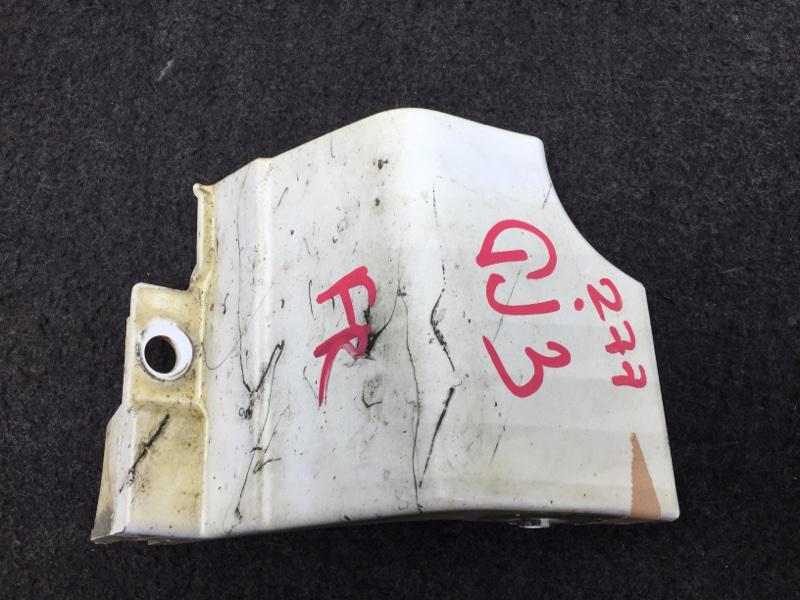 Накладка на порог Honda Partner GJ3 L15A 2008 правая Сломаны крепления. (См. Фото) (б/у)