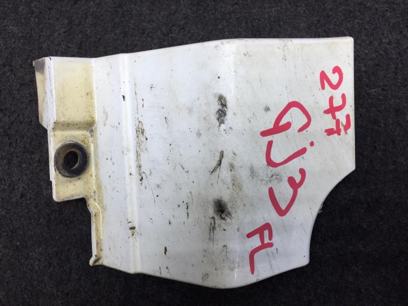 Накладка на порог Honda Partner GJ3 L15A 2008 левая Сломаны крепления. (см. Фото) (б/у)