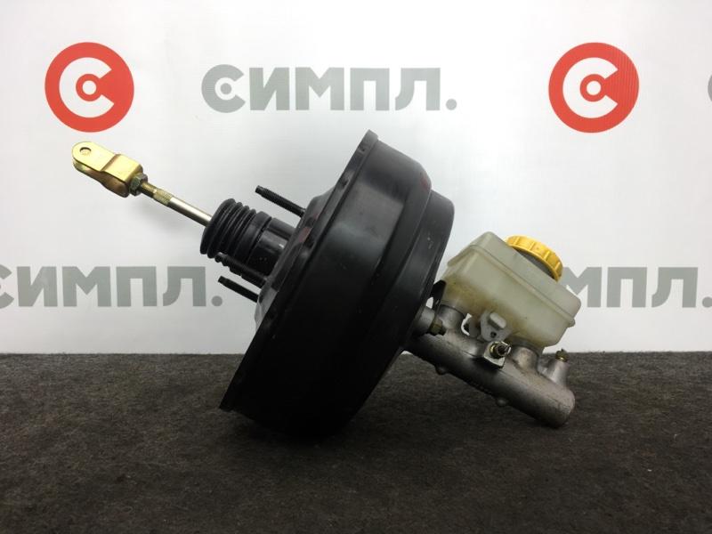 Цилиндр главный тормозной Subaru Forester SF5 EJ201 2001 ГТЦ + вакуумный усилитель (б/у)