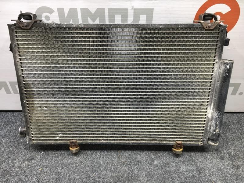 Радиатор кондиционера Toyota Platz NCP16 2NZ 2000 (б/у)