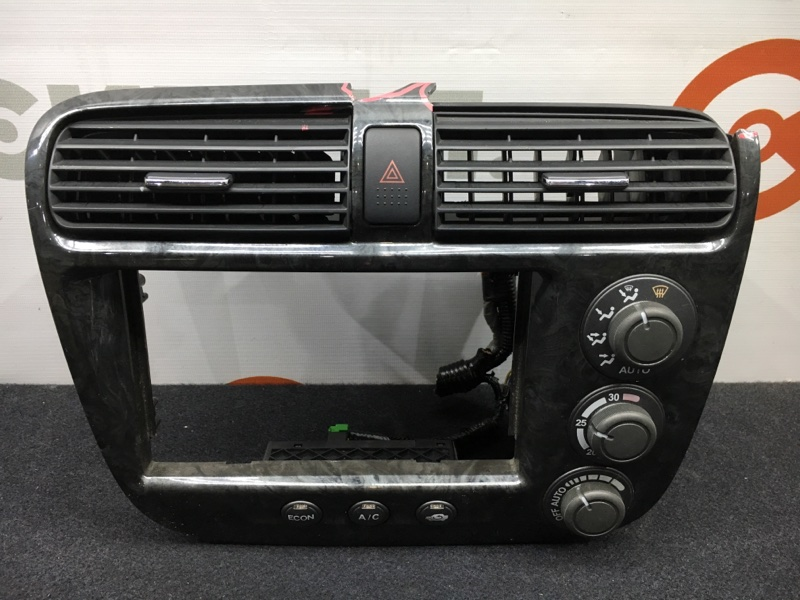 Блок управления климат-контролем Honda Civic ES9 LDA 2002 Дефект декоративной рамки (см.  (б/у)