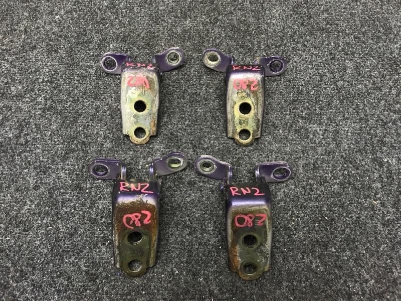 Крепление двери Honda Stream RN2 D17A 2001 Комплект на передние двери (4 шт). (б/у)