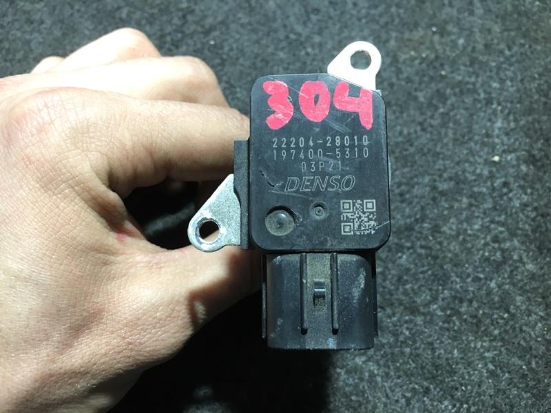 Датчик расхода воздуха Toyota Aqua NHP10 1NZ-FXE 2012 (б/у)