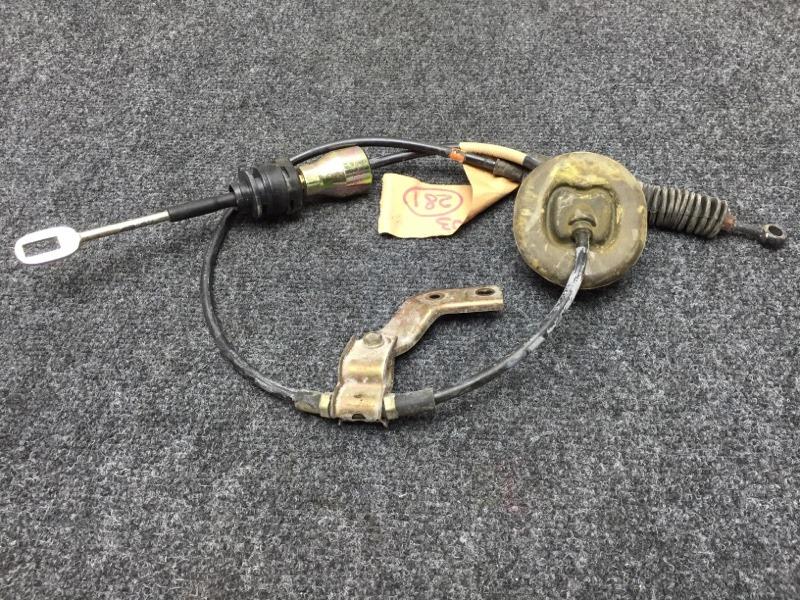 Тросик переключения кпп Honda Fit GD1 L13A 2003 (б/у)
