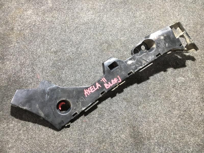 Крепление бампера Mazda Axela BL6FJ Z6 2011 заднее левое BBM4502J1 Дефект крепления см. фото. (б/у)