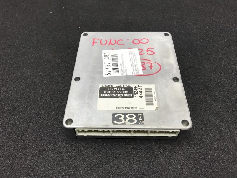 Блок управления двс Toyota Funcargo NCP25 1NZ 2000 49 ящик (б/у)
