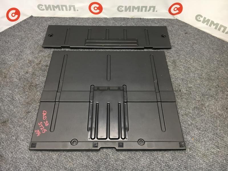 Панель пола багажника Toyota Caldina ST215 3S 1998 (б/у)